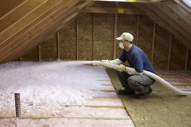 Enersol local insulation contractor insulation expert for New home insulation